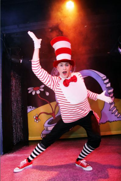Seussical Jr features The Cat in the Hat