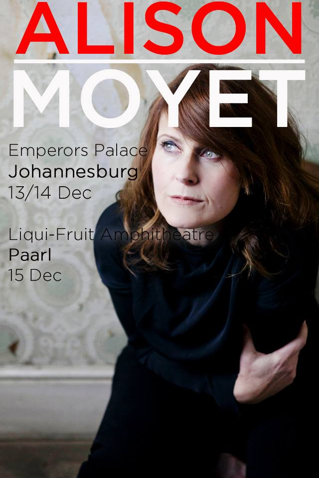 Alison Moyet in South Africa