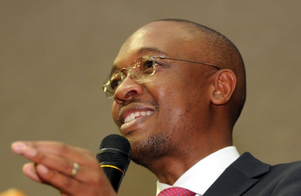 Joburg's Executive Mayor, Parks Tau